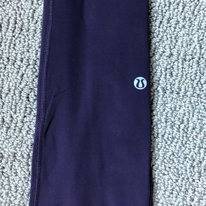 Lululemon Plum Bundle-Leggings and 2 tanks